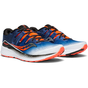 saucony Ride ISO - Chaussures running Homme - bleu/blanc